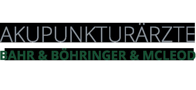 Akupunktur Ärzte Bahr & Böhringer & McLeod